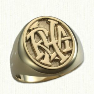 Monogram Signet Rings