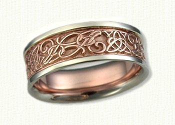 Monogram Wedding Bands