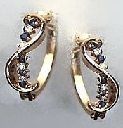 gemstones earring
