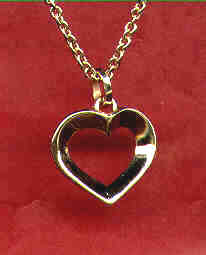 Single Heart Pendant
