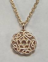 Celtic Star of David Pendant