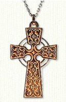 Intricate Florentine Cross with Double Halo