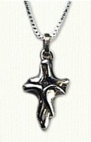 Free form cross - #CR00044, religious jewelry, crosses