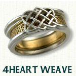 4heart weave Reverse Cradle