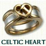 Celtic Heart Reverse Cradle