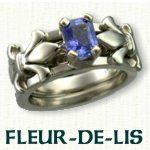 Fleur-De-Lis Reverse Cradle