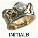 Initials Reverse Cradle