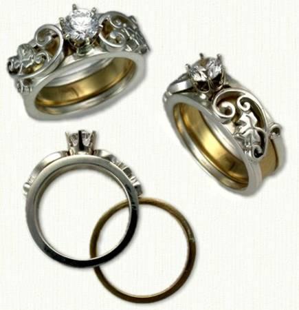 ivy wedding ring