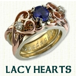 Lacy Heart Reverse Cradle