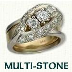 Multi-Stone Reverse Cradle
