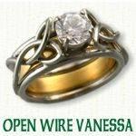 Open Wire Vanessa Knot Reverse Cradle