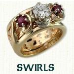 Swirls Reverse Cradle
