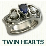 Twin Hearts Reverse Cradle