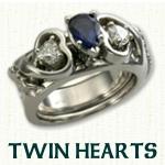 Twin Hearts Reverse Cradle