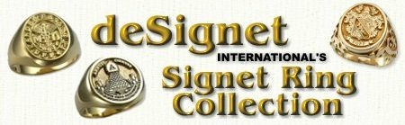 Signet Rings by deSignet International