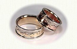 wedding rings, engagement rings, celtic wedding bands