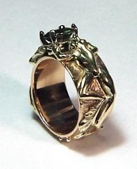 14KT Frog ring