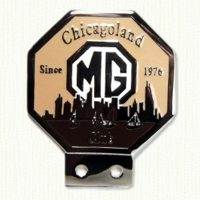 Chicagoland Car Badge and Tack Pin
