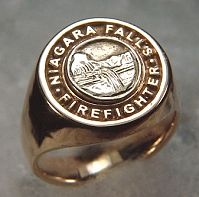 Niagara Falls Firefighters Signet Ring