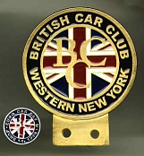 British Car Club badge