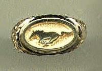 14KY Mustang Ring