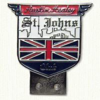 St. Johns Austin Healy Car Club Badge