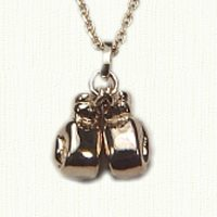 14KY Boxing Gloves Charm