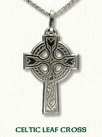 Celtic Leaf Cross