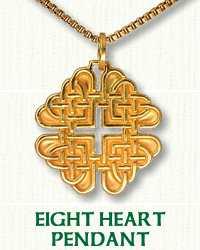 Heart Knot Pendant