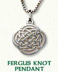 Fergus Knot Pendant