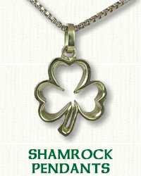 Shamrock pendants necklaces affordable prices online open shamrock pendant audiocablefo