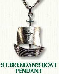 S/S St. Brendan's Boat 3-D