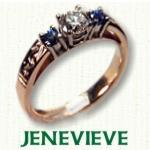Jenevieve Engagement ring