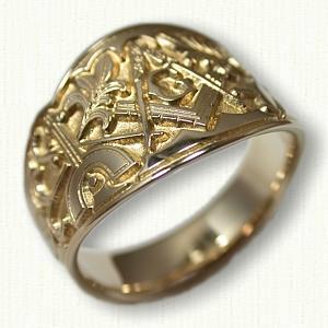 Custom Masonic Jewelry deSignet International