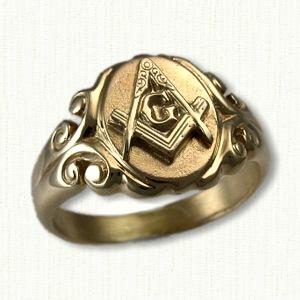 Masonic Rings on Antique Masonic Rings By Jrgen