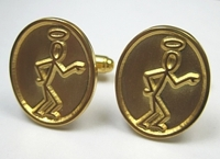 Custom Saint Cuff Links