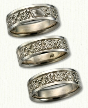 Military Wedding Ring